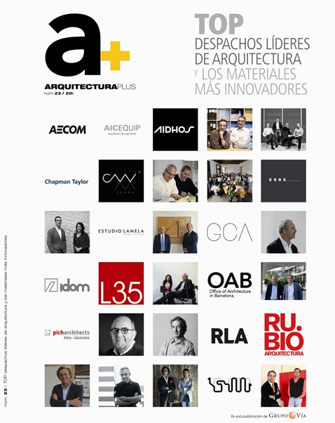 Leading studio in Spain according to the magazine 'A+'